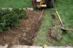 Water and Sewer Lines